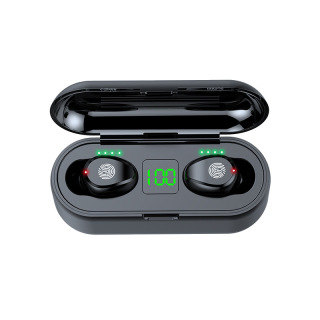 [ Sale Sốc ] Tai Nghe Bluetooth AMOI F9 Pro Quốc Tế Nút CẢM ỨNG Bluetooth 5.0 Kén Sạc 2000 Mah Âm Thanh Sắc Nét - Tai Nghe Bluetooth Không Dây Amoi F9 Pin Trâu - Tai Nghe Buetooth cho mọi dòng máy 3