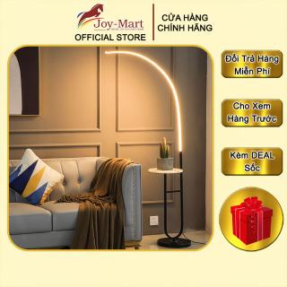 Đèn Cây - JOYMART - Đèn Đứng LED 3 Màu Trang Trí Sofa Phòng Khách, Có Bàn Đá Để Đồ Tiện Lợi ML1022 thumbnail