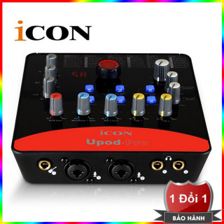 Sound card USB hát karaoke online ICON Upod Pro Red Model 2018 thumbnail
