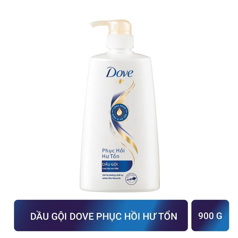 Dove dầu gội phục hồi hư tổn 900g nhập khẩu