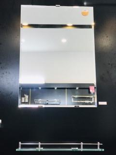 Gương phòng tắm cao cấp kích thước 30x45 cm bao bể vỡ thumbnail