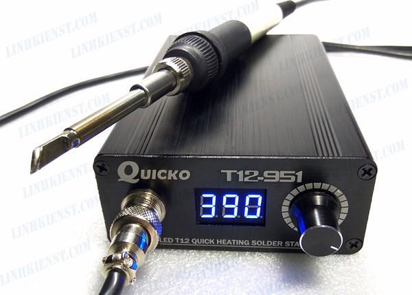 TRẠM HÀN T12 QUICKO T12-951 màn hình LED