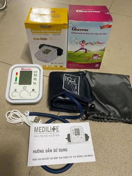 Nơi bán Máy huyết áp Medilite - Quà tặng của sữa Glucerna