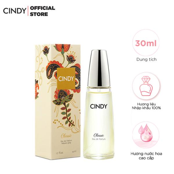 Nước Hoa Nữ Cindy Classic 30ml - Cổ Điển