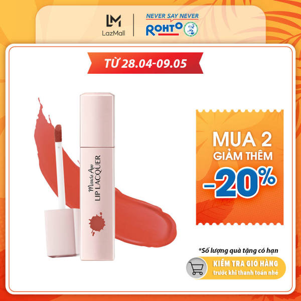 Son kem lì Miracle Apo Lip Lacquer Matte Holiday Collection Forever & Always 3ml (Cam đào)