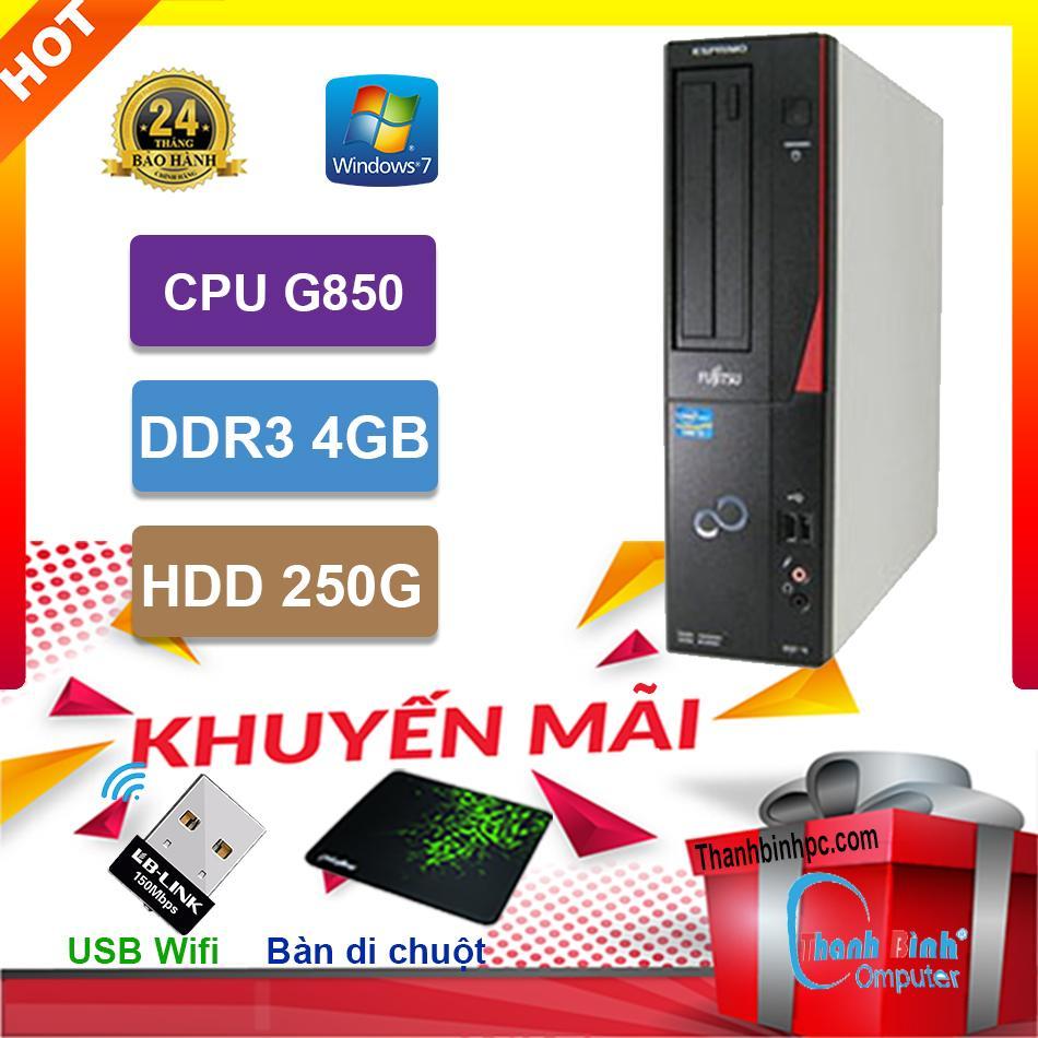 Máy Tính Đồng Bộ Fujitsu G850/ RAM 4GB / HDD 250GB - Hàng Nhập Khẩu Bảo Hành 24 Tháng Giá Quá Tốt Phải Mua Ngay