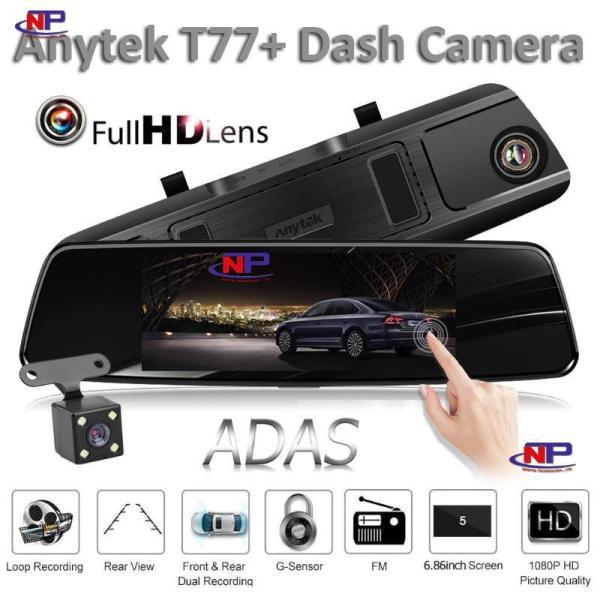 Camera hành trình Anytek T77+ Quay hai mắt trước sau Full HD 1920x1080P