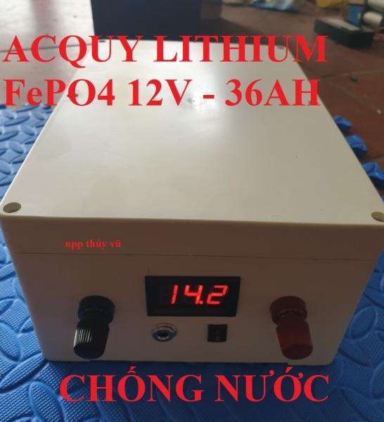 Pin lithium 12v 36AH - Pin lithium sắt - pin 32700