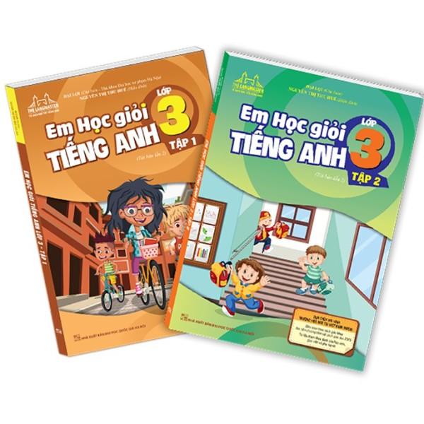 Sách - Combo em học giỏi tiếng Anh lớp 3 (2 cuốn)