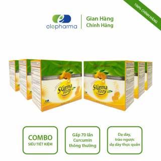 [Combo 6 hộp] Viên sủi nghệ dạ dày Scurma Fizzy New - Hỗ trợ giảm viêm loét dạ dày, trào ngược dạ dày thực quản - Hộp 20 viên thumbnail