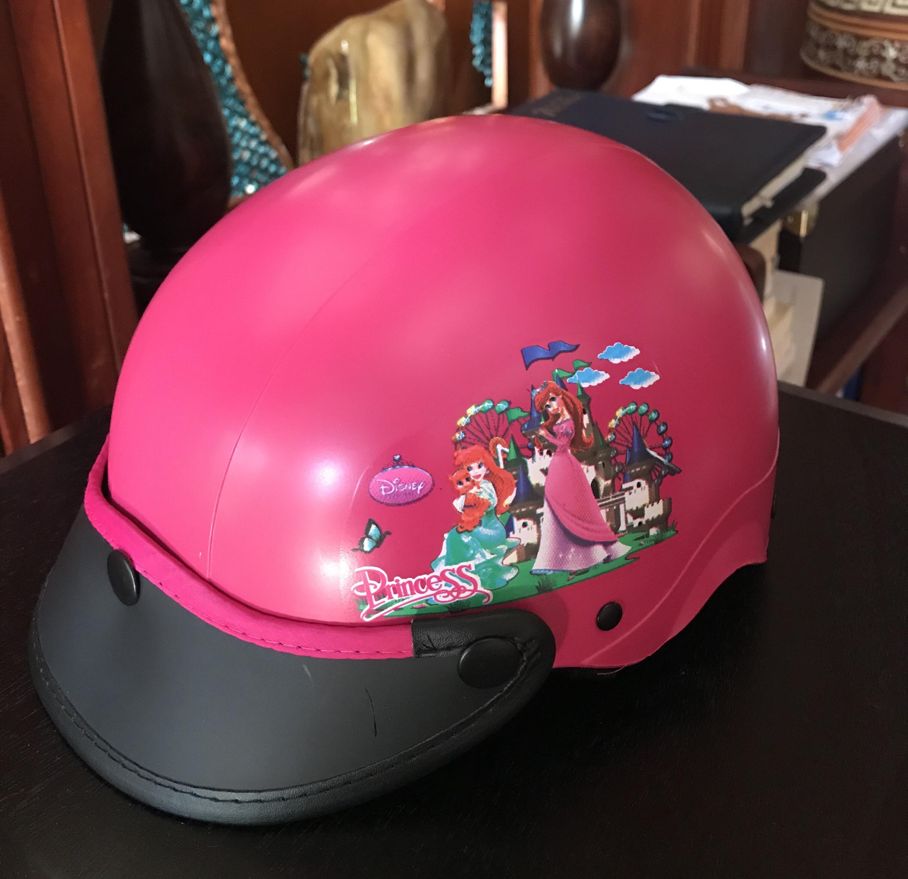 Giá bán Nón bảo hiểm trẻ em từ 4-7 tuổi CAO CẤP bảo vệ đầu trẻ khi đi xe máy, Bền Cứng Cáp, TP.HCM