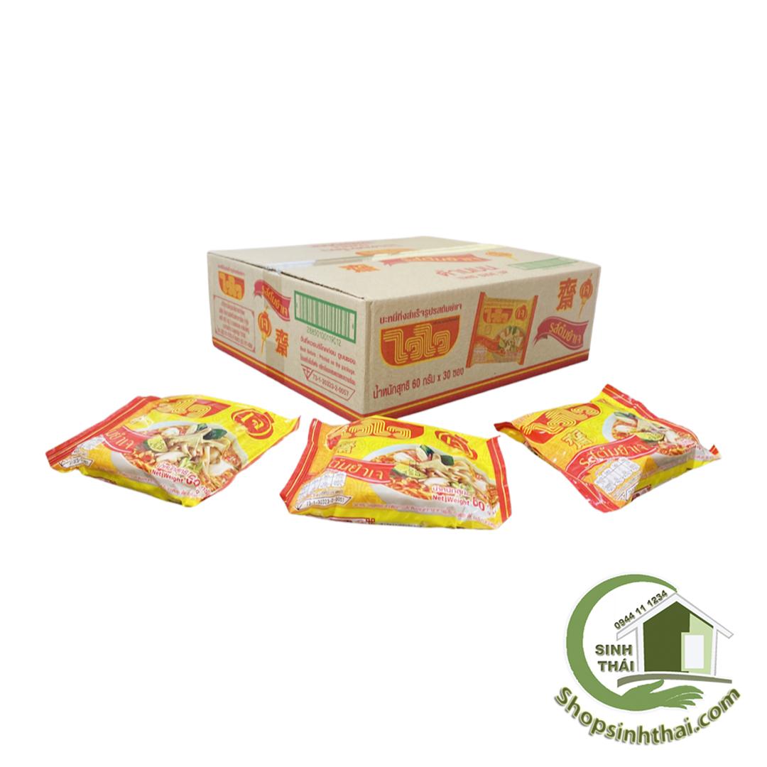 Mì chay nấm, chua cay Thái Lan ( 30 gói/thùng )