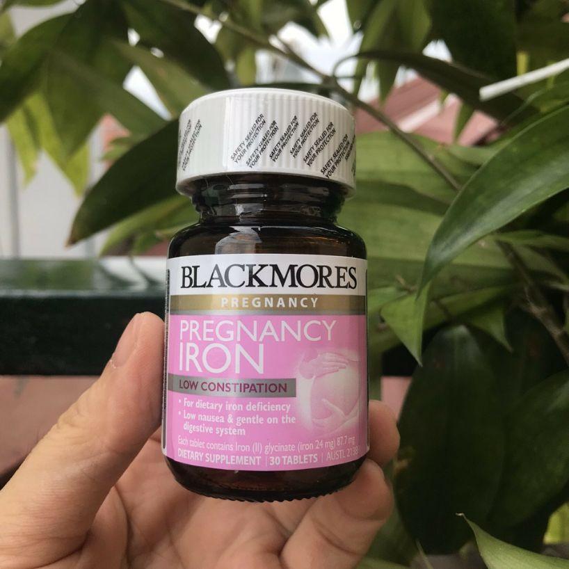 Viên sắt cho bà bầu - Pregnancy iron 30 viên nhập khẩu