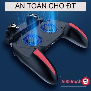 Tay Cầm Chơi Game Pubg Free - Phụ Kiện Chơi Game Quạt Tản Nhiệt Pin 5000Mah thumbnail