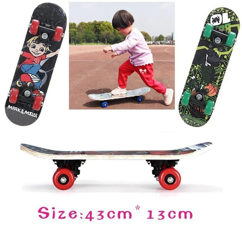 Ván gỗ Trượt giá Rẻ Bốn Bánh Xe ,Ván trượt Skateboard Penny, Xe Trượt Scooter Trẻ Em Chuyên Nghiệp - Ván trượt trẻ em YOYO cho trẻ từ 2- 15tuổi (Màu Ngẫu Nhiên)
