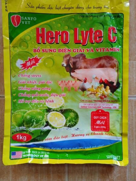 bổ sung điện giải và vitamin