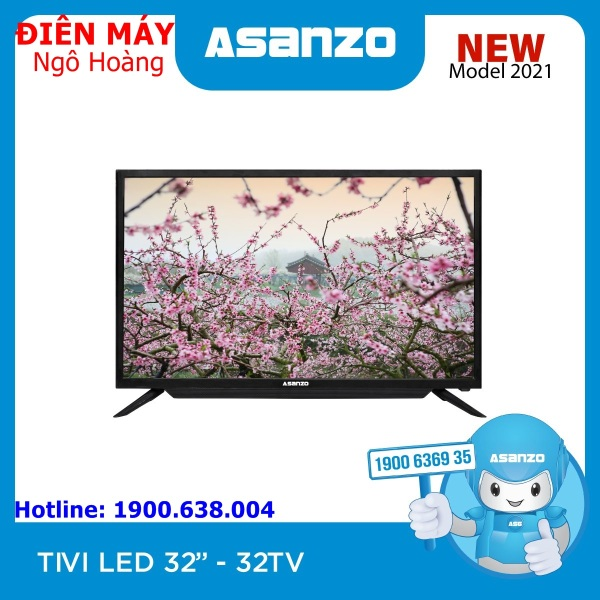 Bảng giá Tivi led Asanzo 32inch model 32TV NEW- 2021