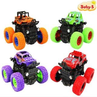 Xe ô tô bánh đà vượt địa hình, Xe đồ chơi cho bé trai nhào lộn 360 độ chạy đà cực mạnh bằng nhựa nguyên sinh ABS Baby-S SDC056 thumbnail