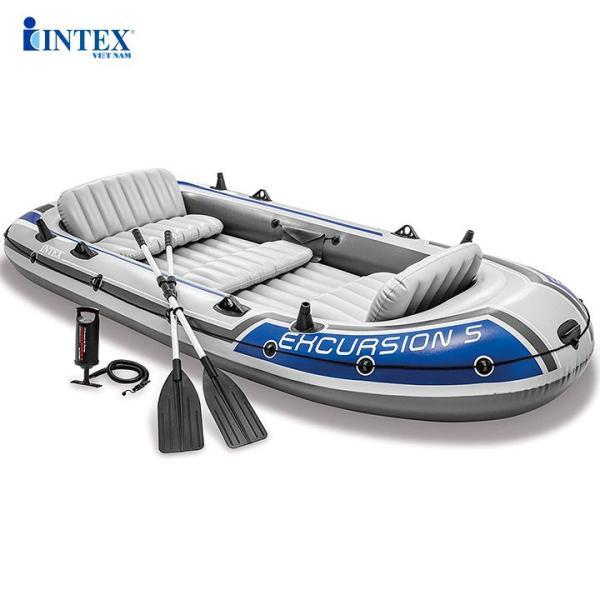 Thuyền bơm hơi INTEX du lịch EXCURSION 5 người 68325 - Thuyền bơm hơi, Thuyền phao