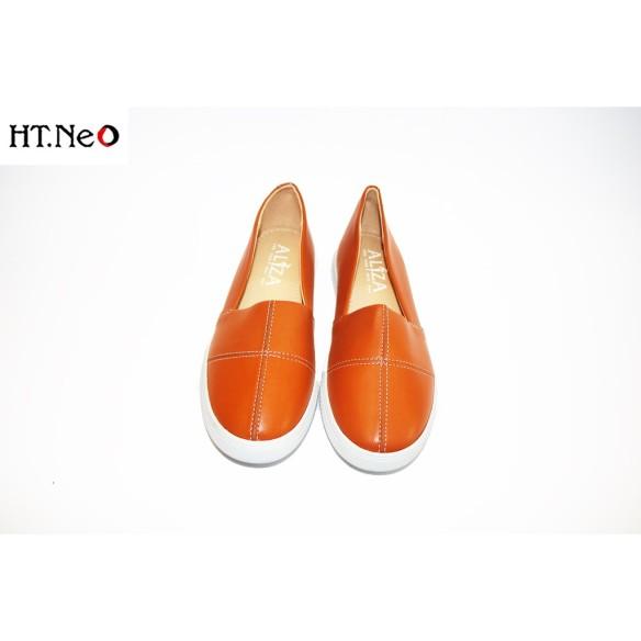 Giày Bệt Nữ 💖 Ht.Neo 💖 Da Bò Thật Kết Hợp Đế Cao Su Tự Nhiên Siêu Bền, Kiểu Dáng Đơn Giản Trẻ Chung Cực Đẹp. giá rẻ