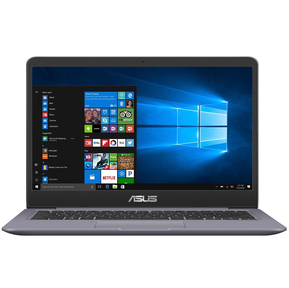 Laptop Asus A411UA-EB872T (Xám) i3, 4Gb, 1Tb, 14FHD, Win 10 - Hãng phân phối chính thức