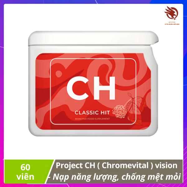 [HCM][ xả kho ] - Thực phẩm Project CH (Chromevital) của vision - Cung cấp năng lượng giảm mệt mỏi cho cơ thể cao cấp
