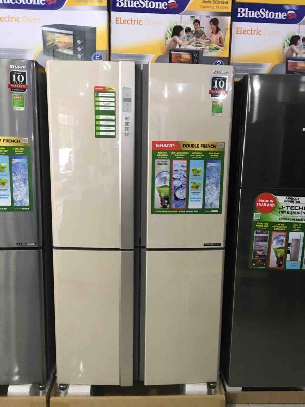 Tủ lạnh sharp invester 626L SJ-FX630V-BE (hàng thái lan mới 100% - BH 1 N chính hãng tại nhà)