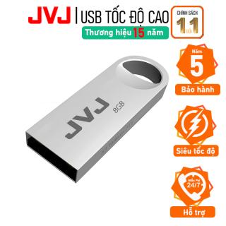 USB 8Gb JVJ S3 siêu nhỏ vỏ kim loại - USB 2.0, tốc độ 25MB s chống nước, Bảo hành 5 năm chính hãng siêu nhỏ chống sốc chống nước, thiết kế vỏ nhôm nhỏ gọn, Flash Drive đầu kim loại siêu nhẹ kết nối nhanh thumbnail