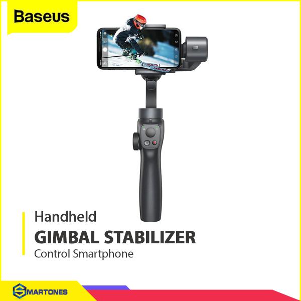Tay cầm chống rung Baseus Gimbal Stabilizer cho điện thoại iPhone Samsung Xiaomi