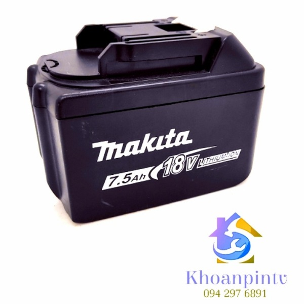 Pin máy khoan makita 15 cell ,dùng chung máy bulong , dung lượng 16850