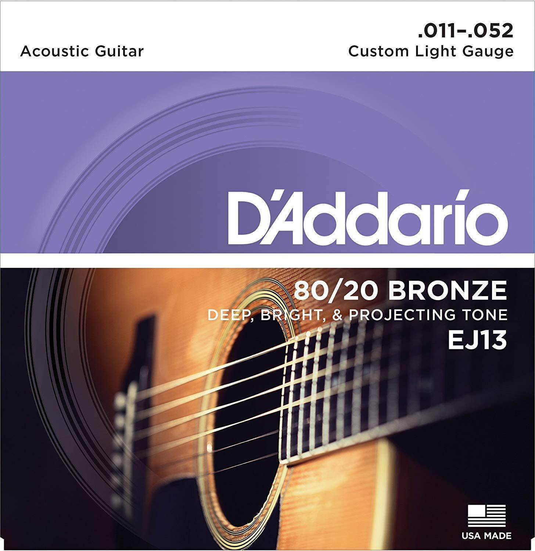 Dây Đàn Guitar Acoustic - D'Addario EJ13 Giá Cực Cool