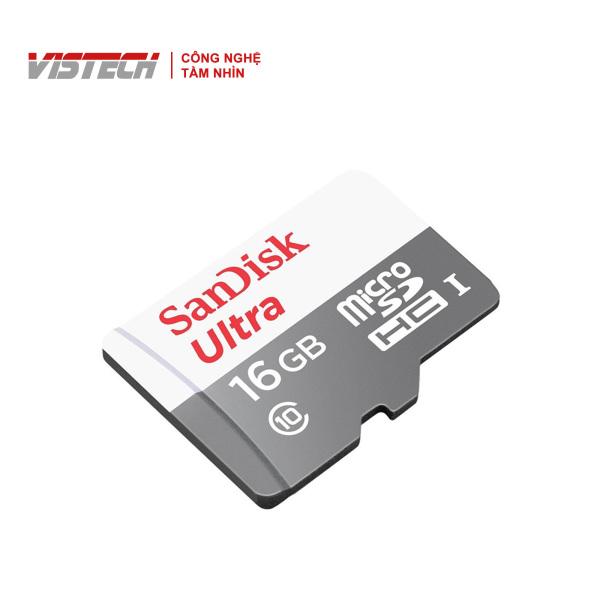 Thẻ Nhớ MicroSDHC SanDisk Ultra 16GB 80MB/s 533x SDSQUNS-016G-GN3MN