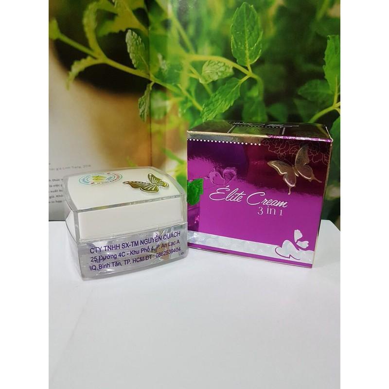Kem Con Bướm Nguyễn Quách - Elite Treatment Cream 3 In 1 - Thanh Loan chính hãng