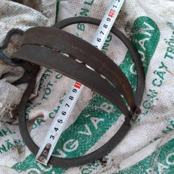 combo 5 bẫy cạm kiềng thép soắn,kích thước 18cm siêu rẻ