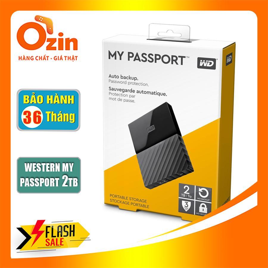 Ổ Cứng Di động Western Digital My Passport 2TB USB 3.0 Siêu Khuyến Mãi
