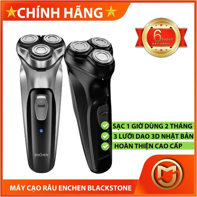 [CHÍNH HÃNG] Máy cạo râu Xiaomi Enchen Blackstone, 3 lưỡi dao cạo 3D của Nhật, sạc 1 lần dùng 2 tháng