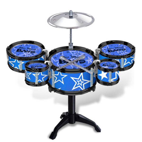 ChildrenS Jazz Drums Boys Early Education Educational Toys Exercise Coordination Hands-On Ability Musical Instrument Drum Sets