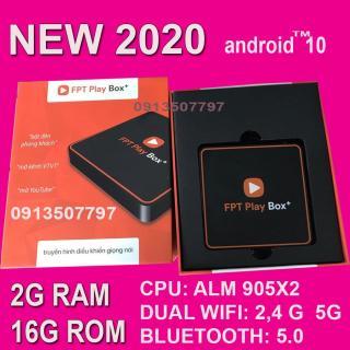 ĐẦU ANDROID BOX FPT PLAY BOX 2020 ANDROID TV 10 RAM 2G TẶNG ĐIỀU KIỂN TÌM KIẾM GIỌNG NÓI thumbnail