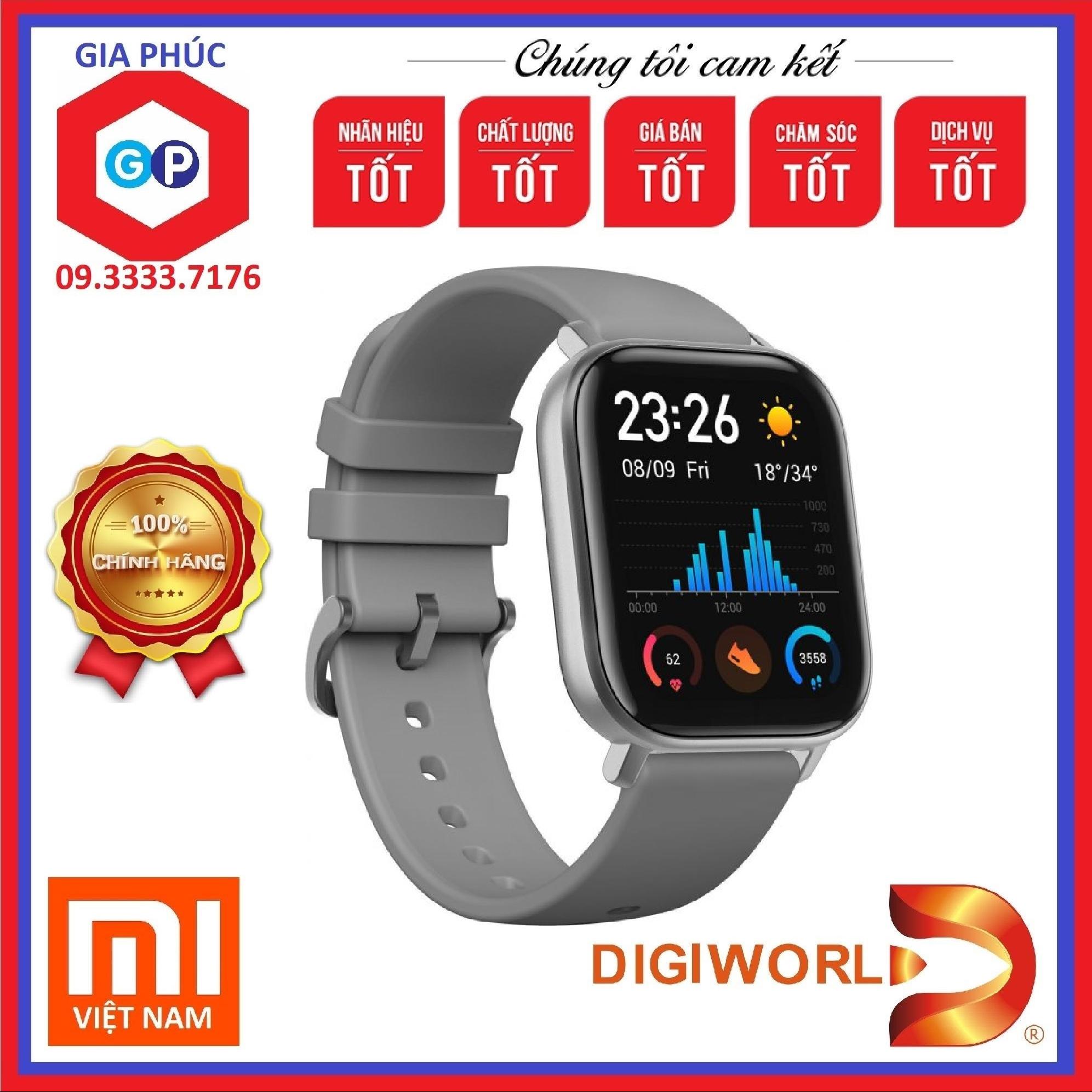 Đồng Hồ Thông Minh Huami Amazfit GTS - Hàng chính hãng Digiworld