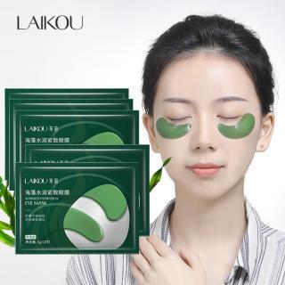 Set 10 mặt nạ mắt giảm quầng thâm và nếp nhăn LAIKOU mặt nạ mắt tảo biển mặt nạ dưỡng mắt mặt nạ nội địa Trung XP-MN911 thumbnail