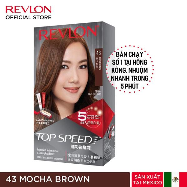 Nhuộm tóc phủ bạc Revlon TopSpeed dành cho nữ giá rẻ