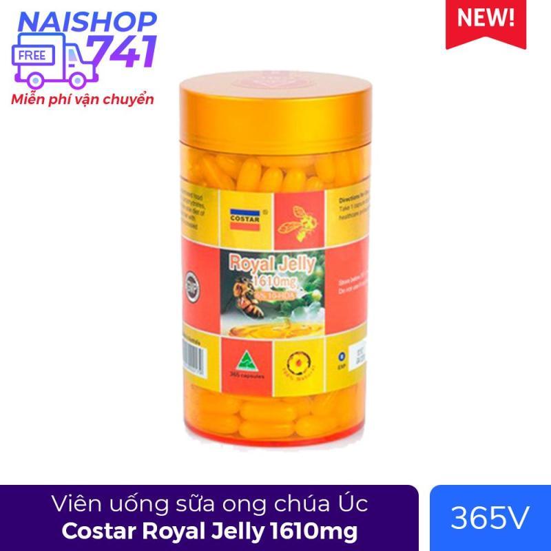 Sữa ong chúa Costar Royal Jelly 1450mg (Chai 365 viên) cao cấp