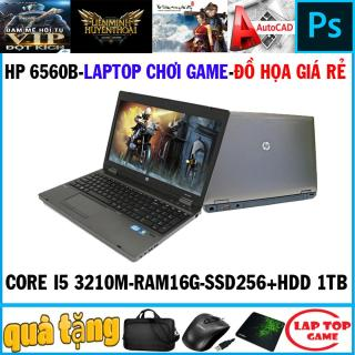 Laptop game và đồ họa giá tốt- HP Pobook 6560B Core i5 2450M Ram 16G SSD 256G+ HDD 1TB VGA HD 3000 Màn 15.6 inch Có Phím Số Vỏ nhôm Dòng máy bền bỉ Loa to thumbnail