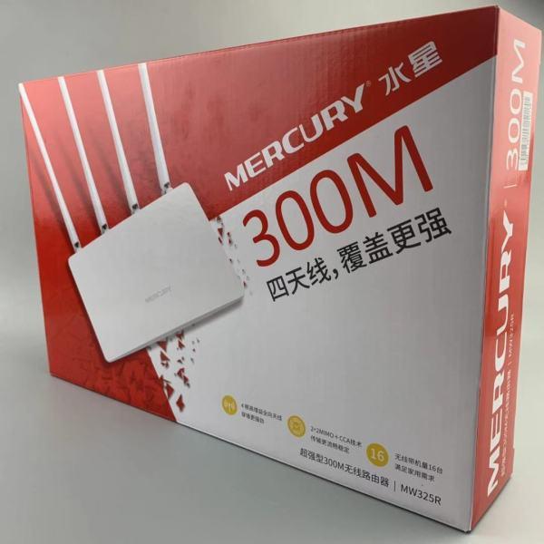 Bảng giá Bộ phát wifi không dây siêu mạnh 4 ăng ten Mercury MW325R tốc độ 300Mbps Phong Vũ
