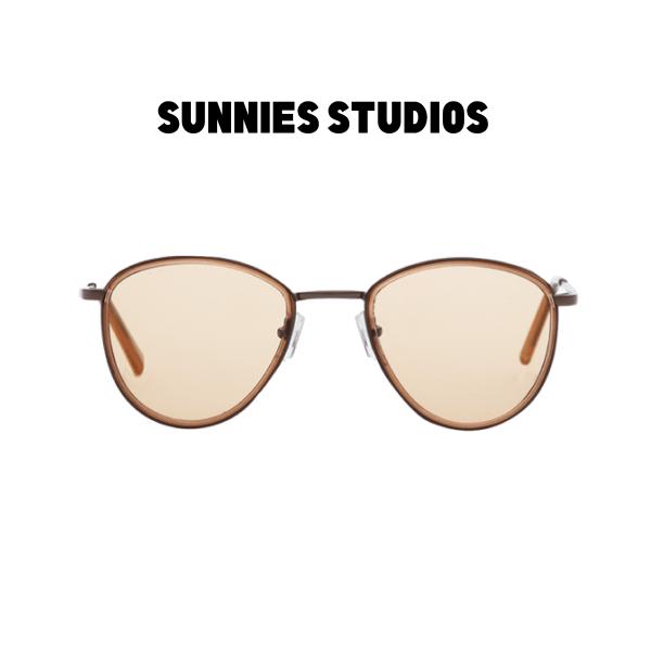 Mua Kính mát Sunnies Studios Gọng Tròn Dallas in Beech