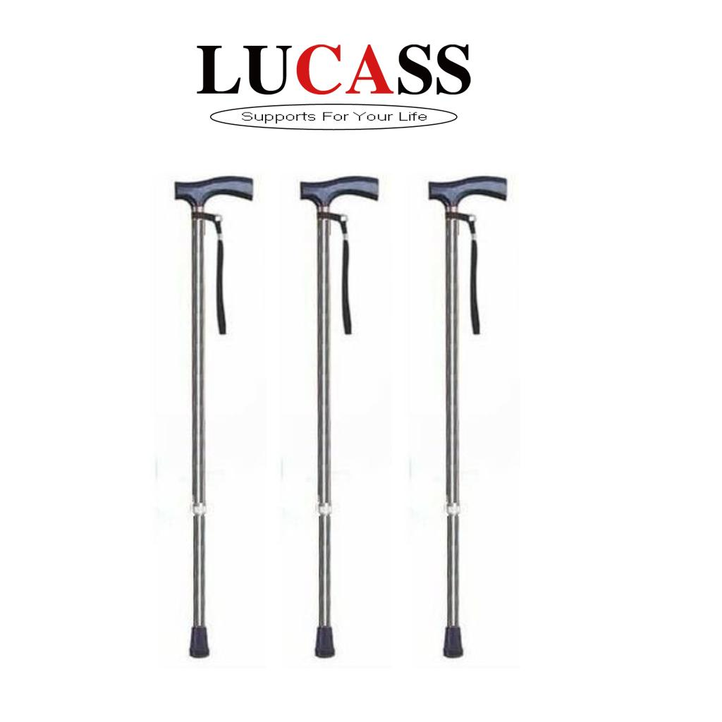 Gậy chống 1 chân chống trượt Lucass Y590 cho người già, người tai nạn chấn thương