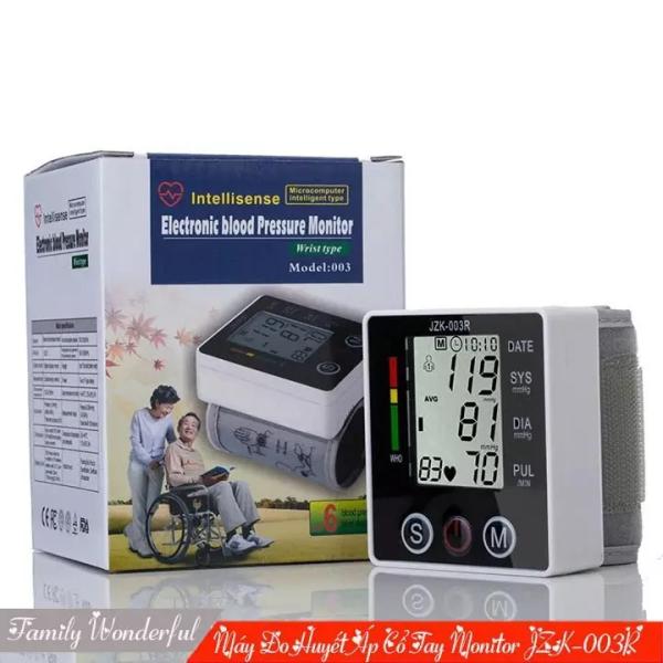 Nơi bán Máy đo huyết áp Omron Nhật Bản-MÁY ĐO HUYẾT ÁP JZK-003R LOẠI TỐT, đo chính xác 100% tình trạng huyết áp BH 12 THÁNG