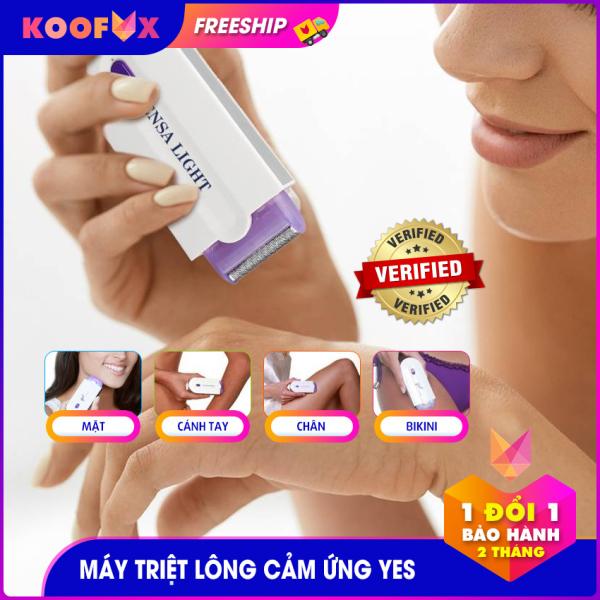 Máy triệt lông cảm ứng Yes Finishing Touch! - KOOFOX - triệt lông toàn thân, gọn nhẹ, dễ sử dụng, máy cạo lông cầm tay, máy cạo lông mini nhập khẩu