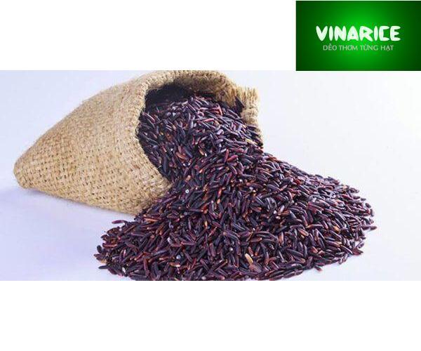 Gạo Nếp Cẩm ( Nếp Than) - Hạt đen Huyền Giàu Dinh Dưỡng - Túi  2kg PE Trắng Trơn Giá Quá Tốt Phải Mua Ngay
