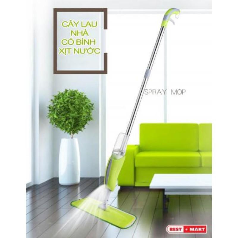 Máy lau rửa sàn nhà phun nước phun sương đa năng  bộ lau nhà, cây lau nhà kèm bình xịt nước thông minh bảo hành 6 tháng tại Ý STORE